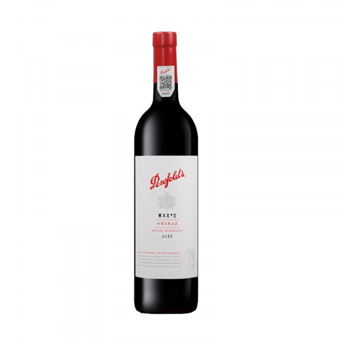 富邑葡萄酒集团 奔富Penfolds 奔富 麦克斯 西拉干红葡萄酒 澳大利亚进口红酒 750ml 单瓶装