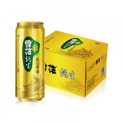 雪花啤酒 纯生 匠心营造 500mlX12听 整箱