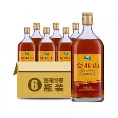 会稽山醇香三年黄酒 浙江绍兴黄酒 500mlX6 整箱