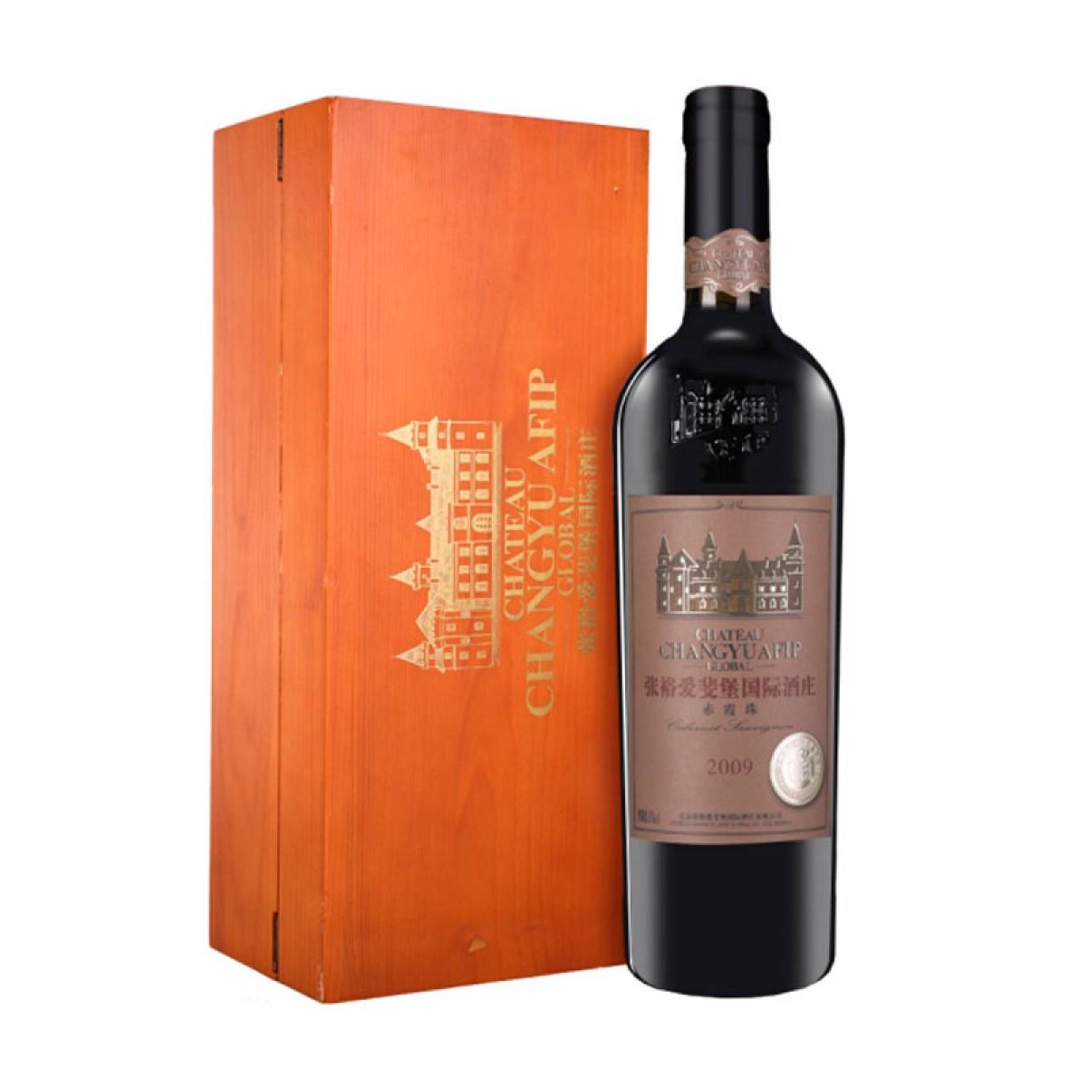 张裕 爱斐堡国际酒庄赤霞珠 大师级 干红葡萄酒 750ml 单瓶