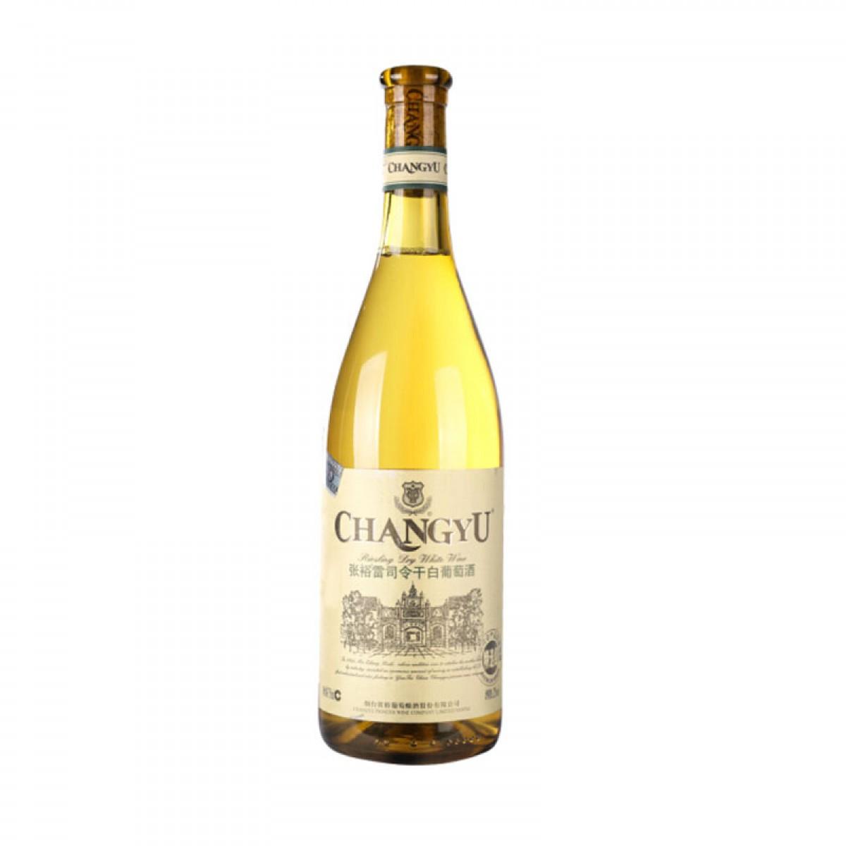 张裕 雷司令 干白葡萄酒 750ml 单瓶装