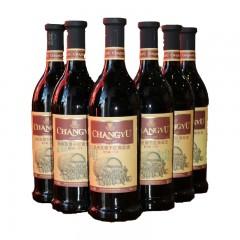 张裕 至尊干红葡萄酒 窖藏三年 750mlX6瓶 整箱装