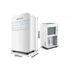艾普莱斯(AIRPLUS) 美国除湿机抽湿机除湿器 家用地下室抽湿器 AP22-202EE白色