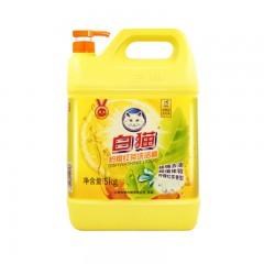 白猫柠檬红茶洗洁精 5kg