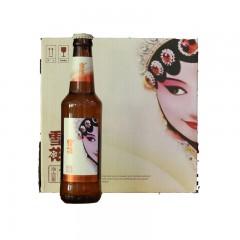 雪花 脸谱 (花旦)啤酒 330mlX12 整箱装