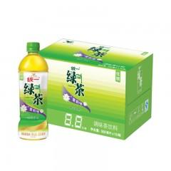 统一 绿茶 茶饮料 500mlX15瓶 整箱装