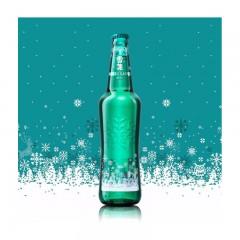 雪花 马尔斯绿 8度 455mlX12瓶 整箱装