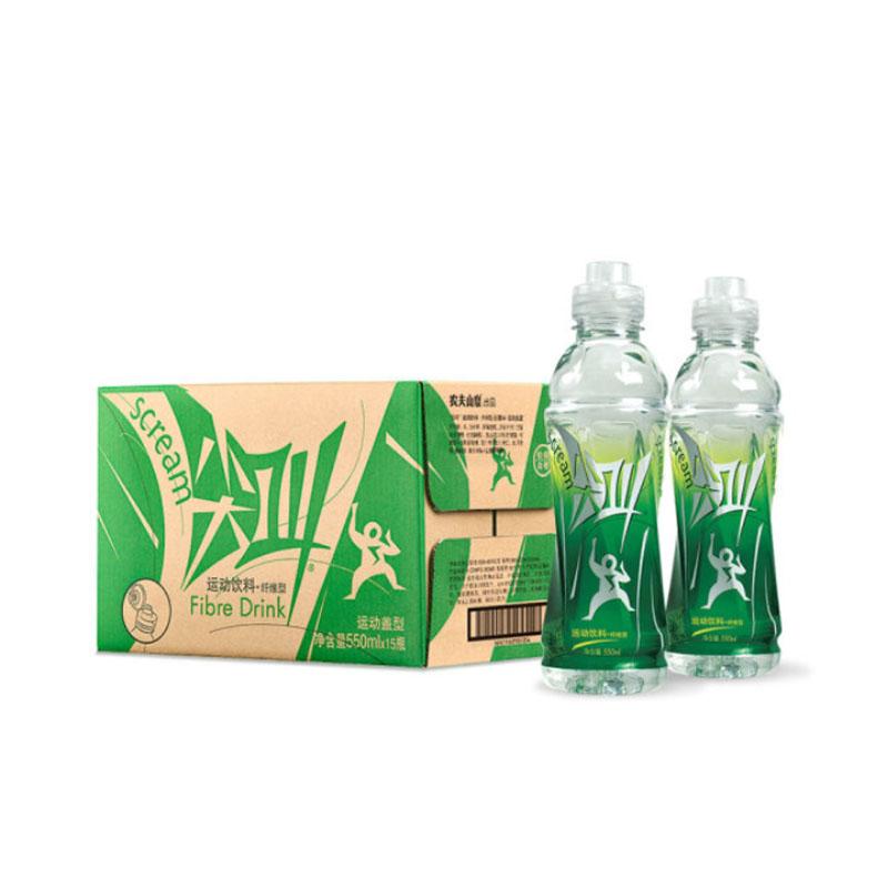 农夫山泉 尖叫  纤维性 运动饮料 550mlX15瓶 整箱装